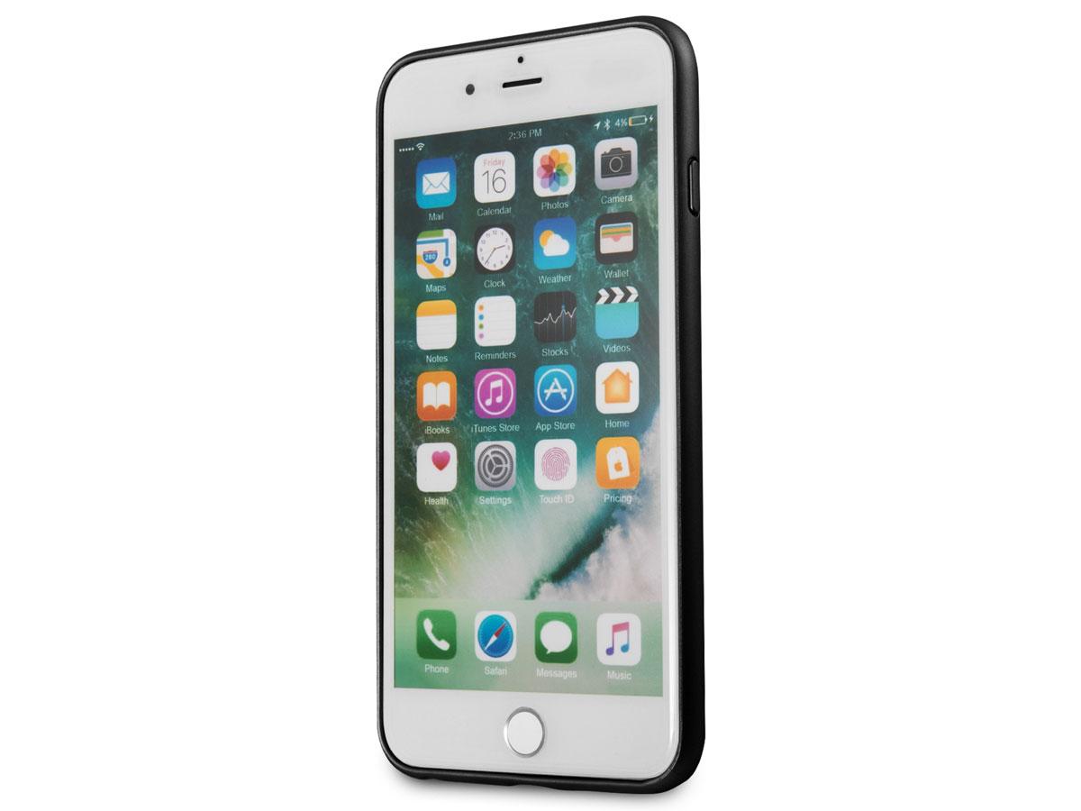 Guess Iridescent Case Zwart | iPhone 8+7+6+ hoesje