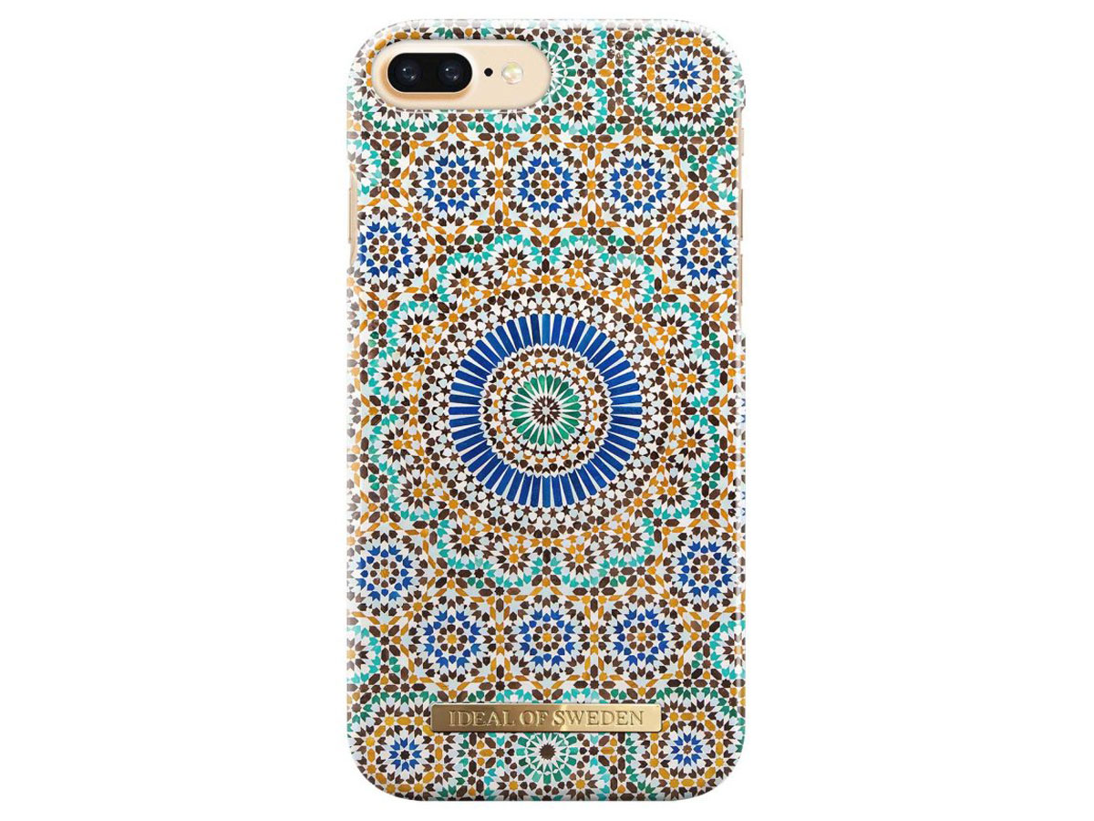 iDeal of Sweden Moroccan Zellige - iPhone 8+/7+/6+ Case