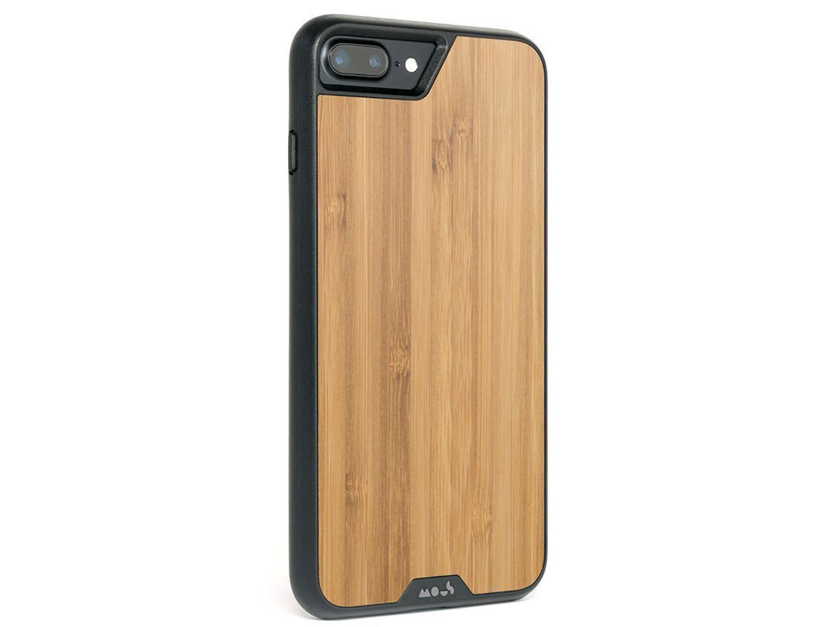Mous Limitless 2.0 Bamboo Case - iPhone 8+/7+/6+ hoesje