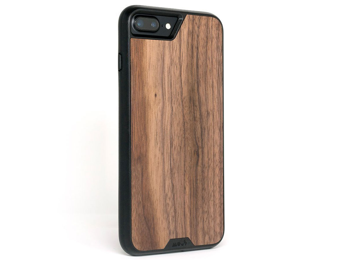 promo code c61b9 2caea Mous Limitless 2.0 Walnut Case - iPhone 8+/7+/6+ hoesje