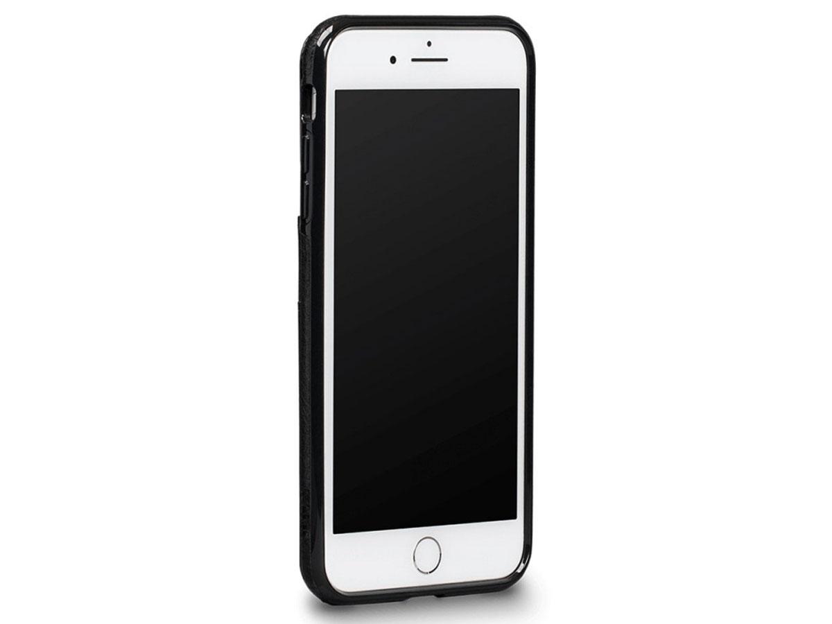 Sena Deen Lugano Wallet Zwart - iPhone 8+/7+ hoesje