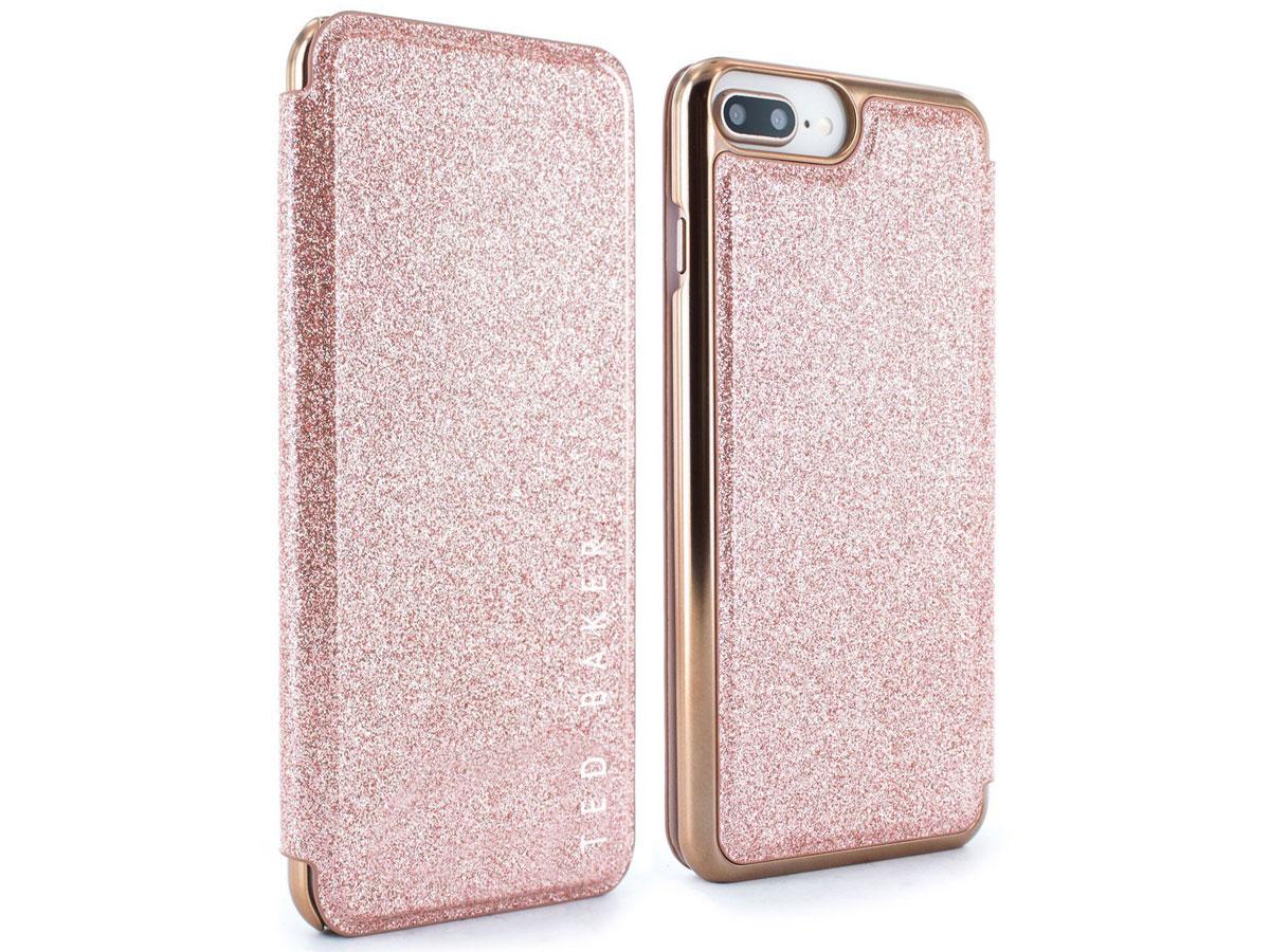 Ted Baker Glitsie Folio Case - iPhone 8+/7+/6s+ Hoesje