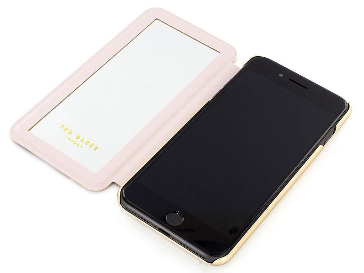 Ted Baker HHELENN Mirror Folio Case - iPhone 8+/7+/6+ Hoesje