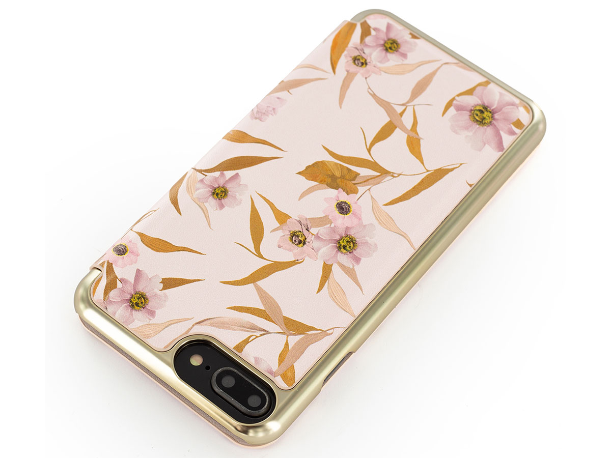 Ted Baker NATALI Mirror Folio Case - iPhone 8+/7+/6+ Hoesje