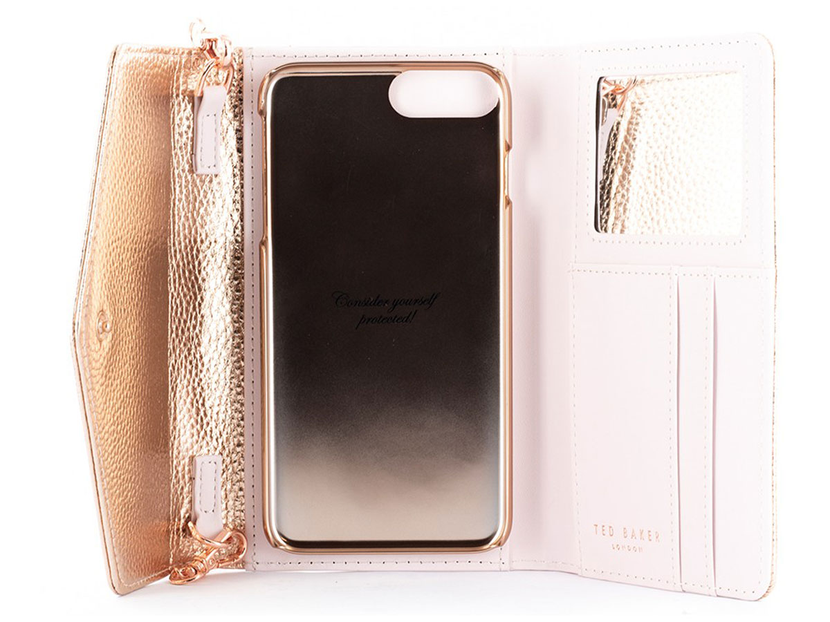 Ted Baker Selie Crossbody Rosé - iPhone 8+/7+/6+ hoesje