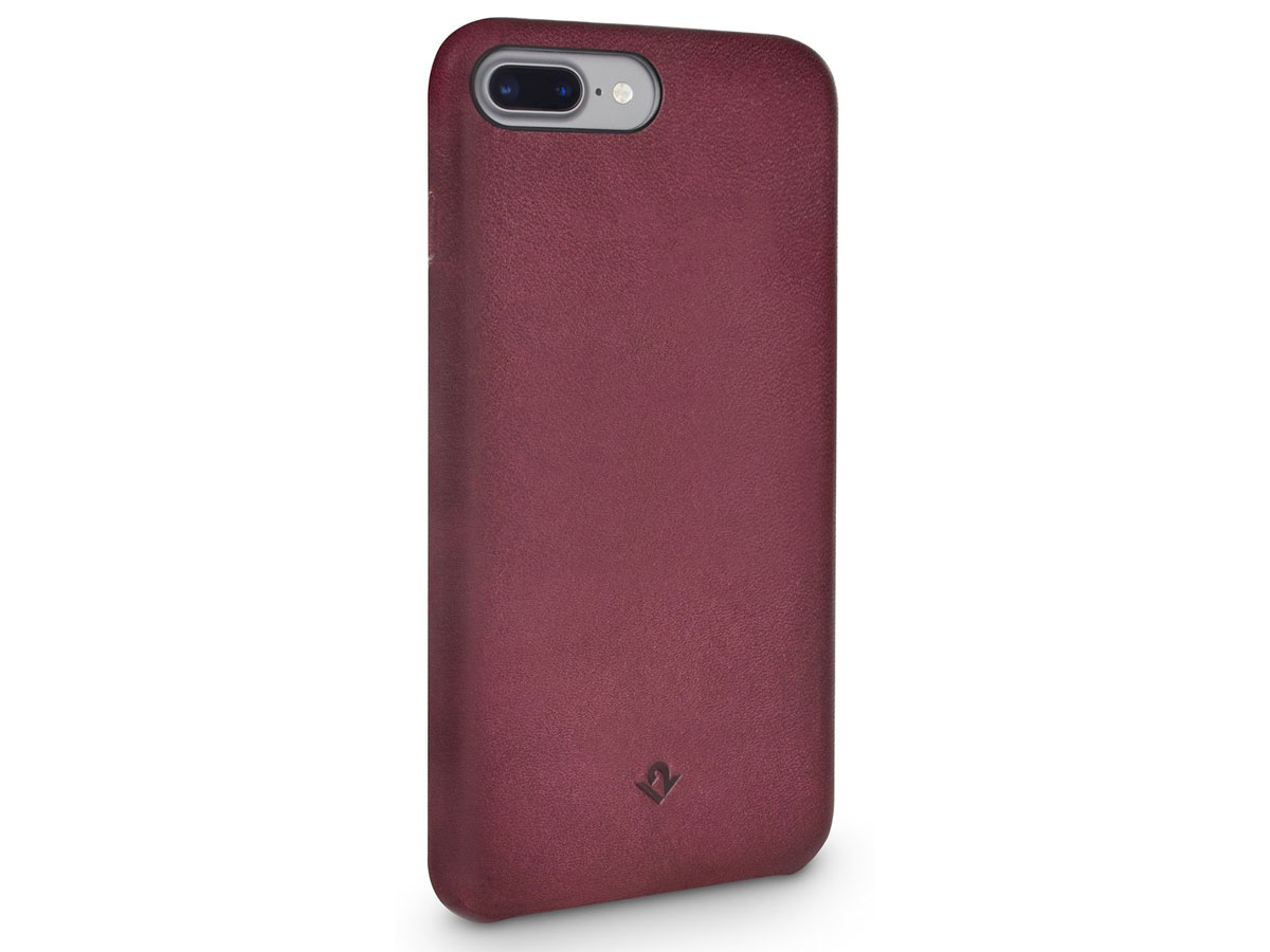 Twelve South Relaxed Leather Marsala - iPhone 8+/7+/6+ hoesje