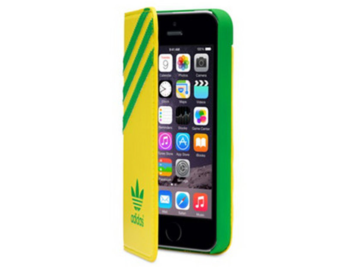 adidas Booklet Case Brazilië - iPhone SE/5s/5 hoesje