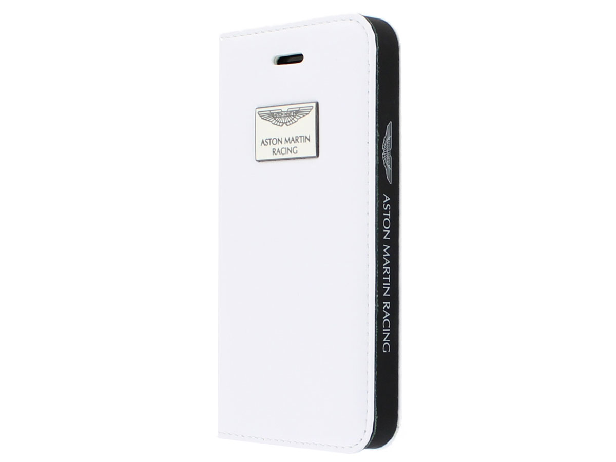 Aston Martin Bookcase - iPhone SE/5s/5 Hoesje Leer