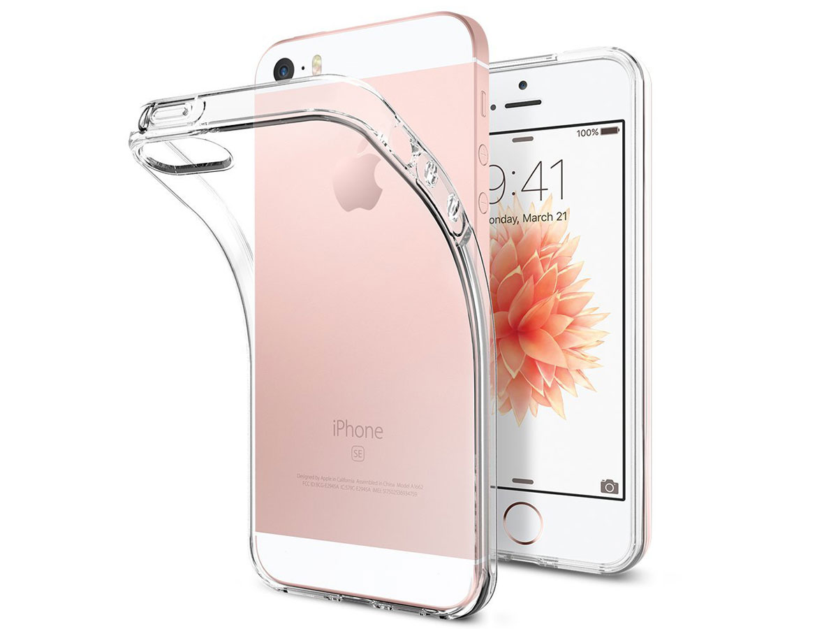 Crystal TPU Skin Case - iPhone SE / 5s / 5 hoesje