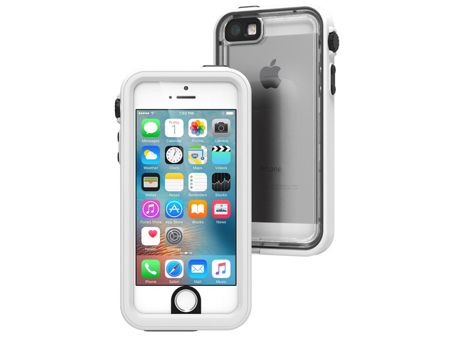 Catalyst Waterdichte Case - iPhone SE/5s hoesje (Wit)