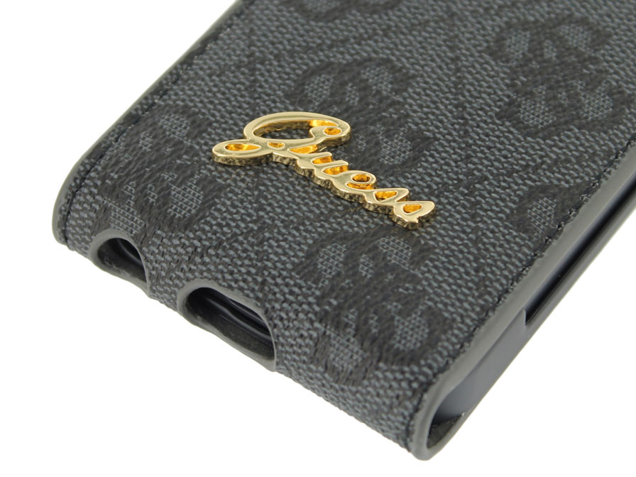 Guess Monogram Flip Case - iPhone SE / 5s / 5 hoesje