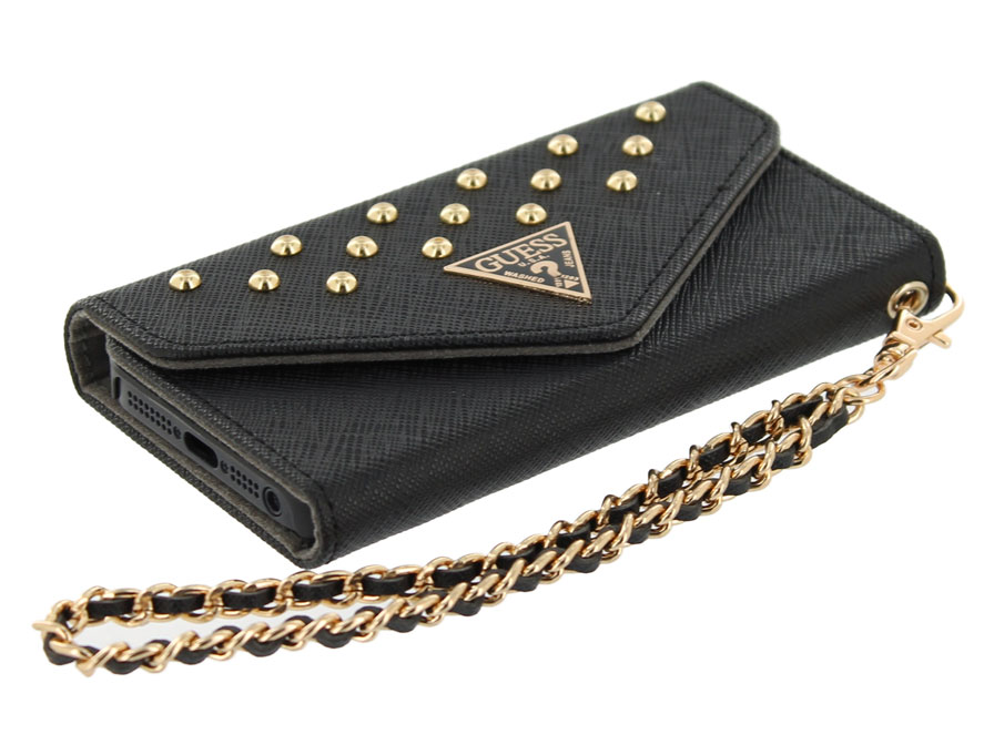 Guess Studded Clutch Case - iPhone SE / 5s / 5 Hoesje
