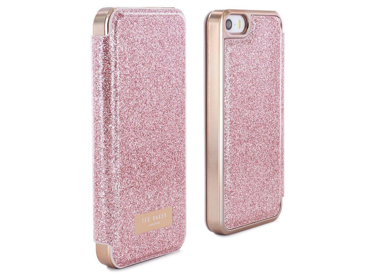 596860de929b Ted Baker Glitsie Folio Rosé - iPhone SE 5s 5 Hoesje ...