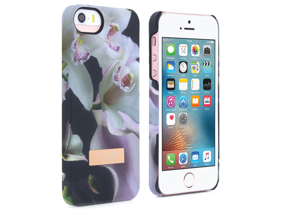 new product 319a0 759e5 Ted Baker Ethereal Posie Case - iPhone SE / 5s hoesje