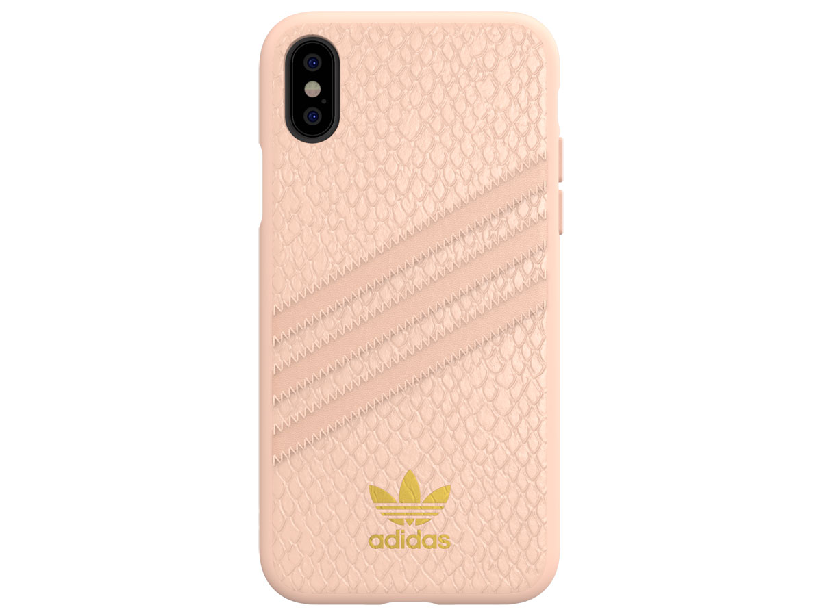 adidas Originals Snake Case Roze - iPhone X/Xs hoesje