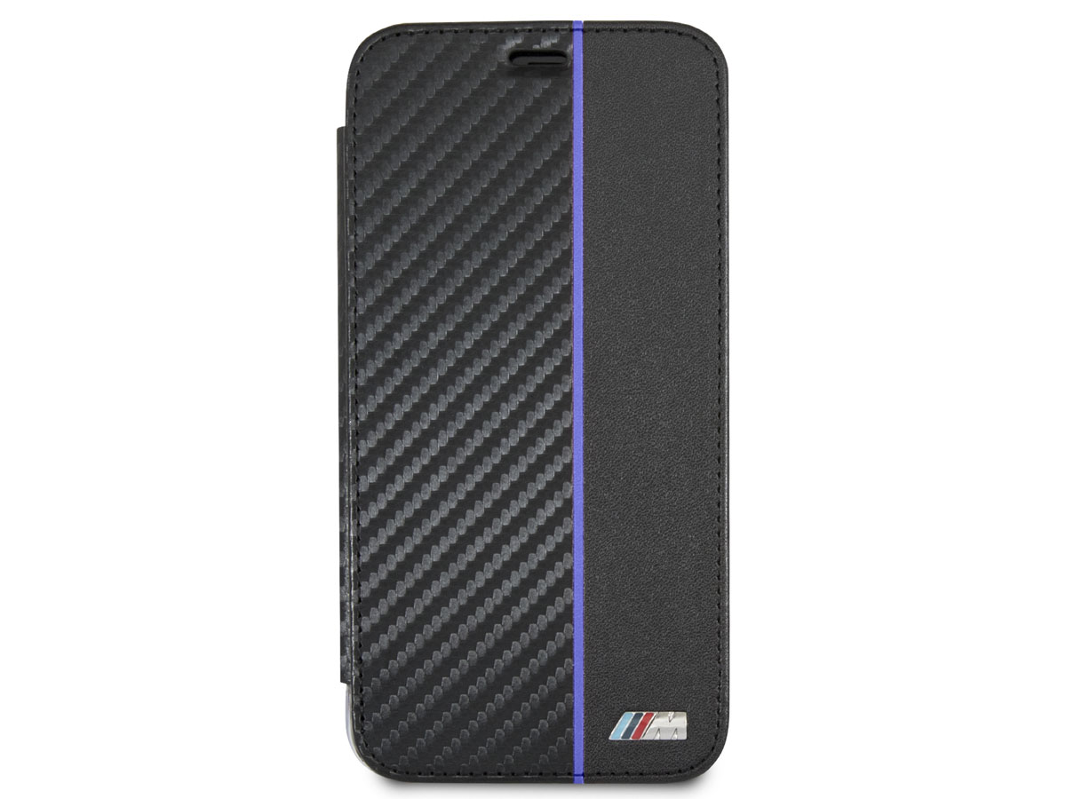 BMW M Sport Bookcase Blauw - iPhone X hoesje
