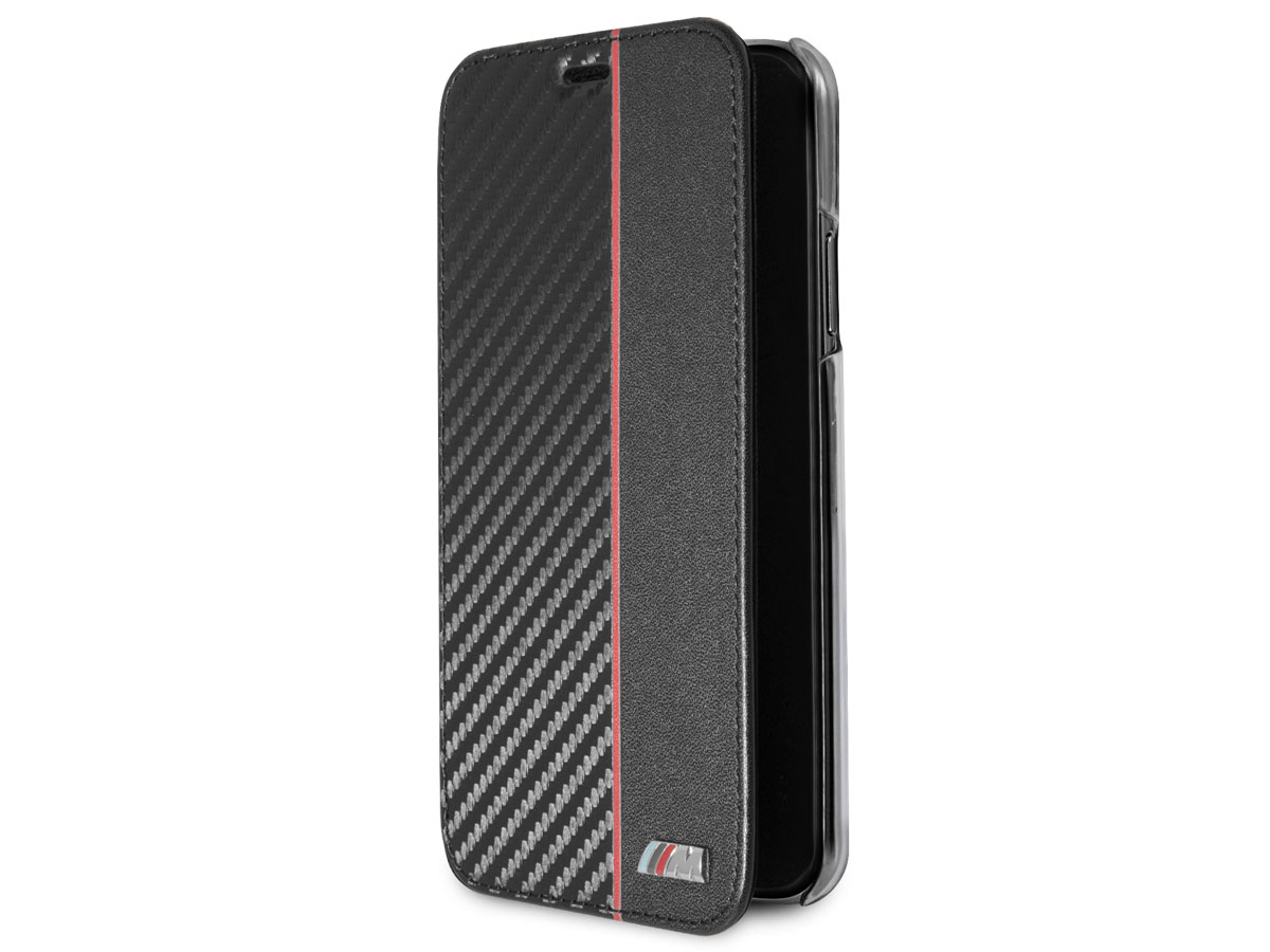 BMW M Sport Bookcase Rood - iPhone X/Xs hoesje