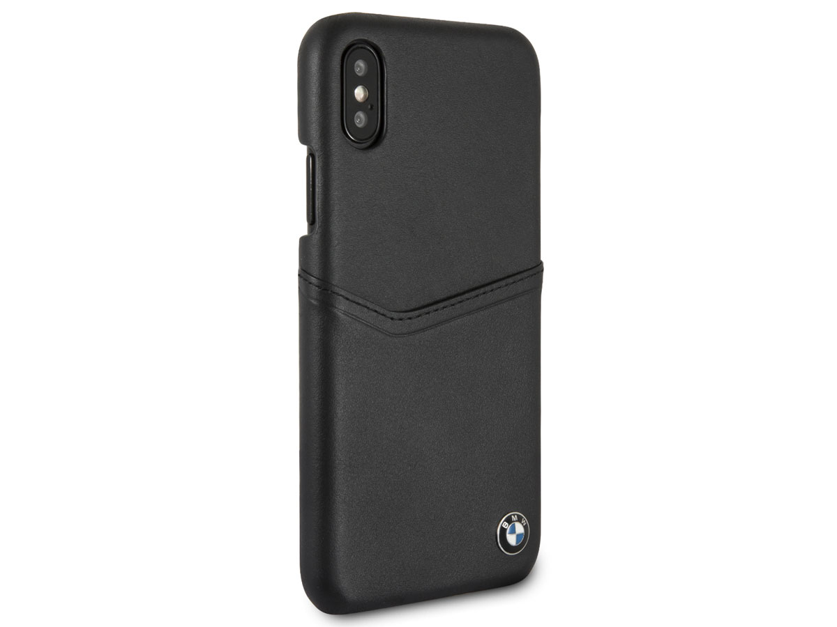 bmw leather card case leren iphone x xs hoesje. Black Bedroom Furniture Sets. Home Design Ideas