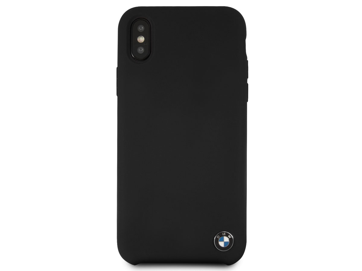 bmw signature case iphone x xs hoesje zwart. Black Bedroom Furniture Sets. Home Design Ideas