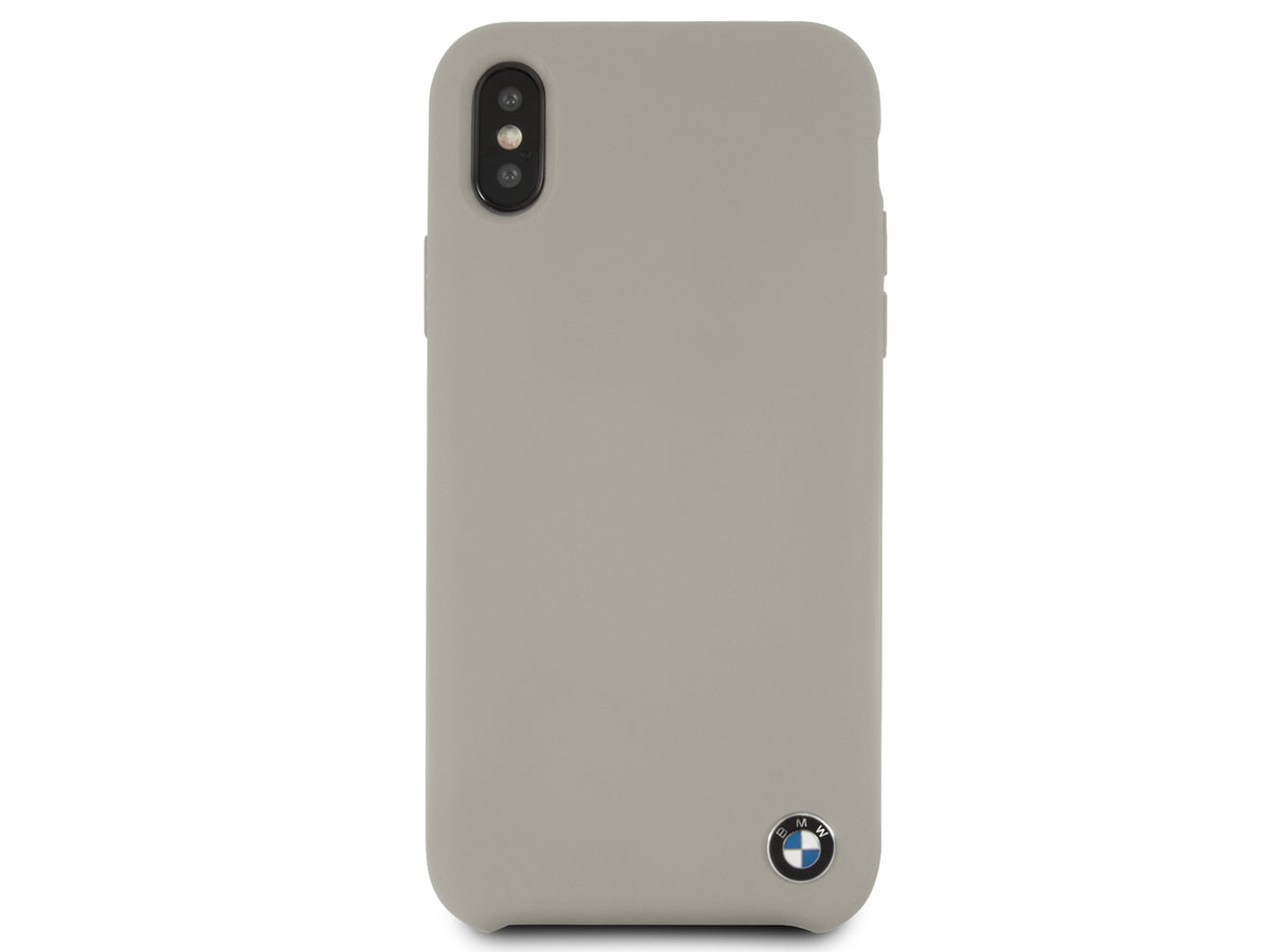 bmw signature case iphone x xs hoesje taupe. Black Bedroom Furniture Sets. Home Design Ideas