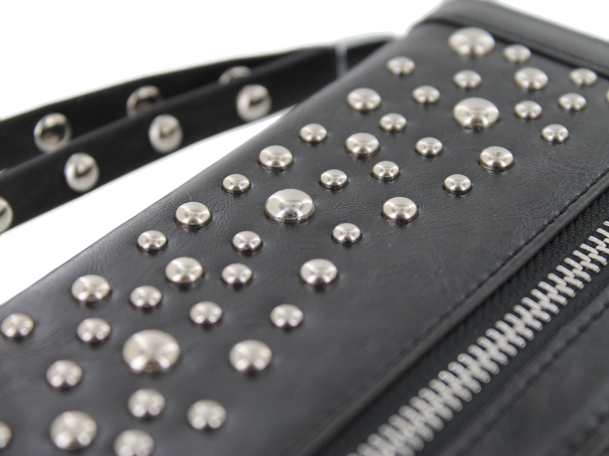 Stardust Studs Bookcase - Studded iPhone X/Xs hoesje