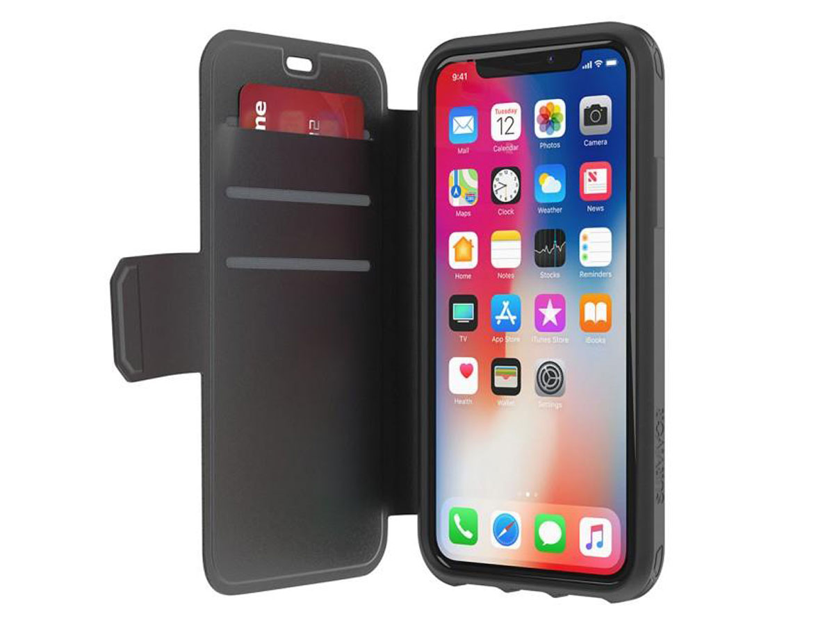 Griffin Survivor Strong Wallet - iPhone X/Xs hoesje