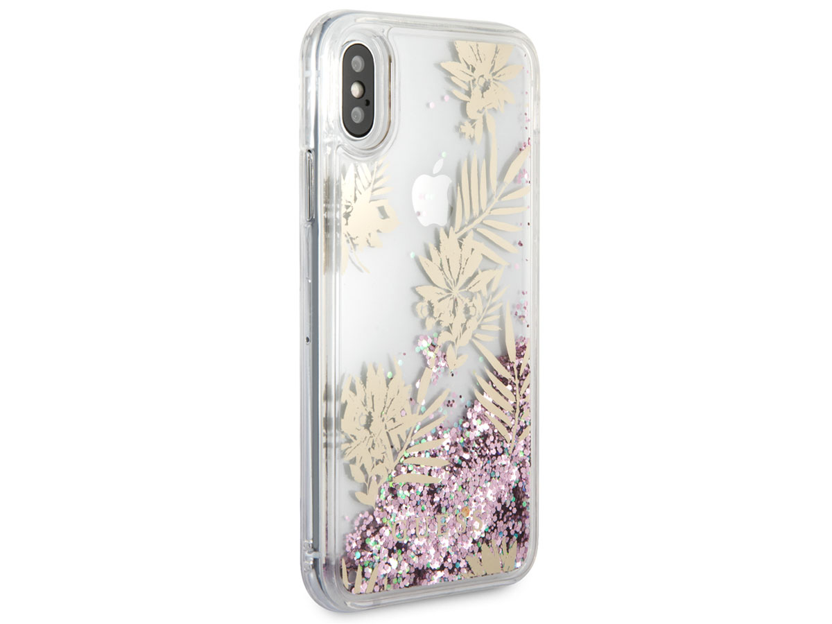 Guess Palm Spring Case Roze - iPhone X hoesje
