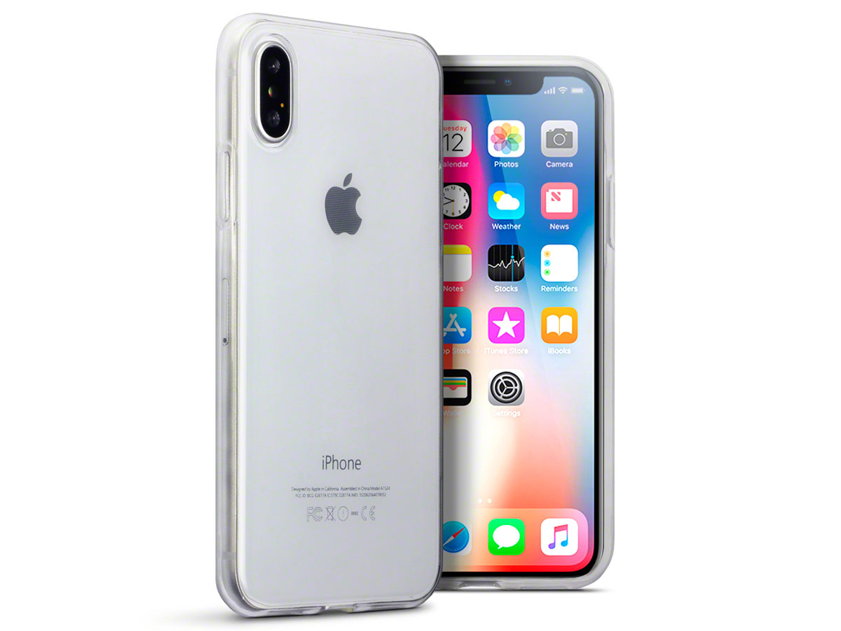 Crystal TPU Case - Transparant iPhone X hoesje