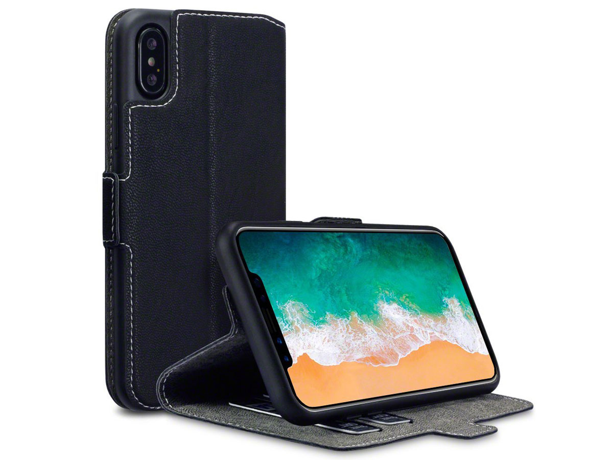 Covert UltraSlim Bookcase - iPhone X hoesje