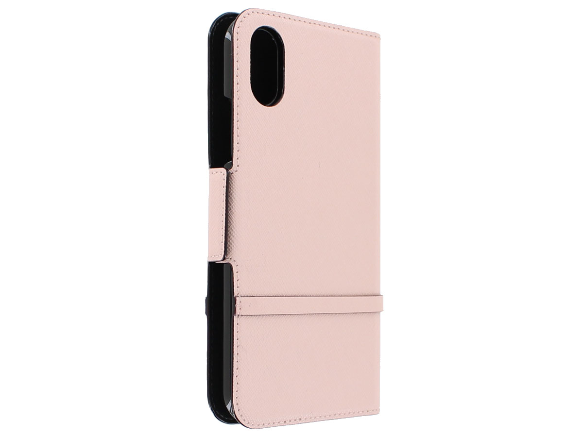 Kate Spade Elliott Street Folio Roze - iPhone X/Xs Hoesje