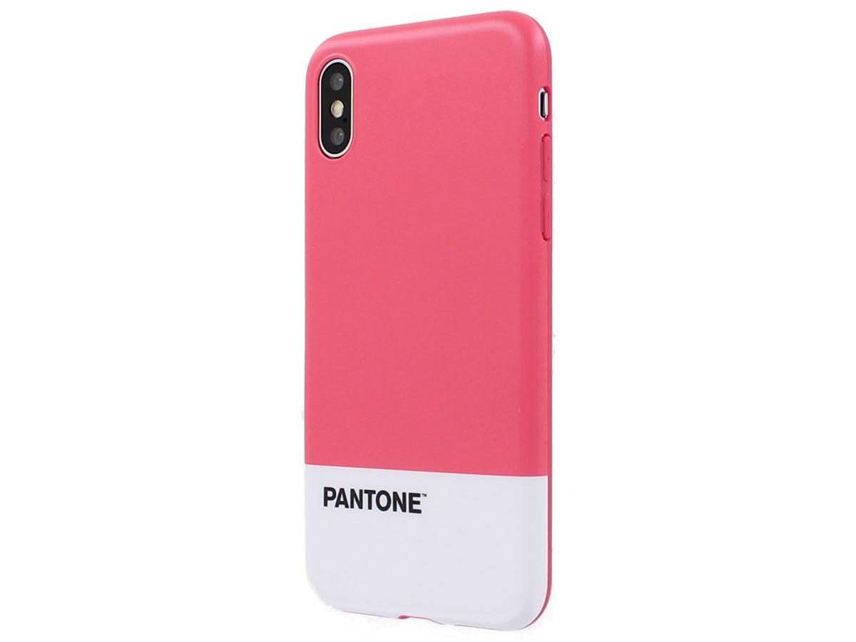 Pantone Hard Case Roze - iPhone X/Xs hoesje