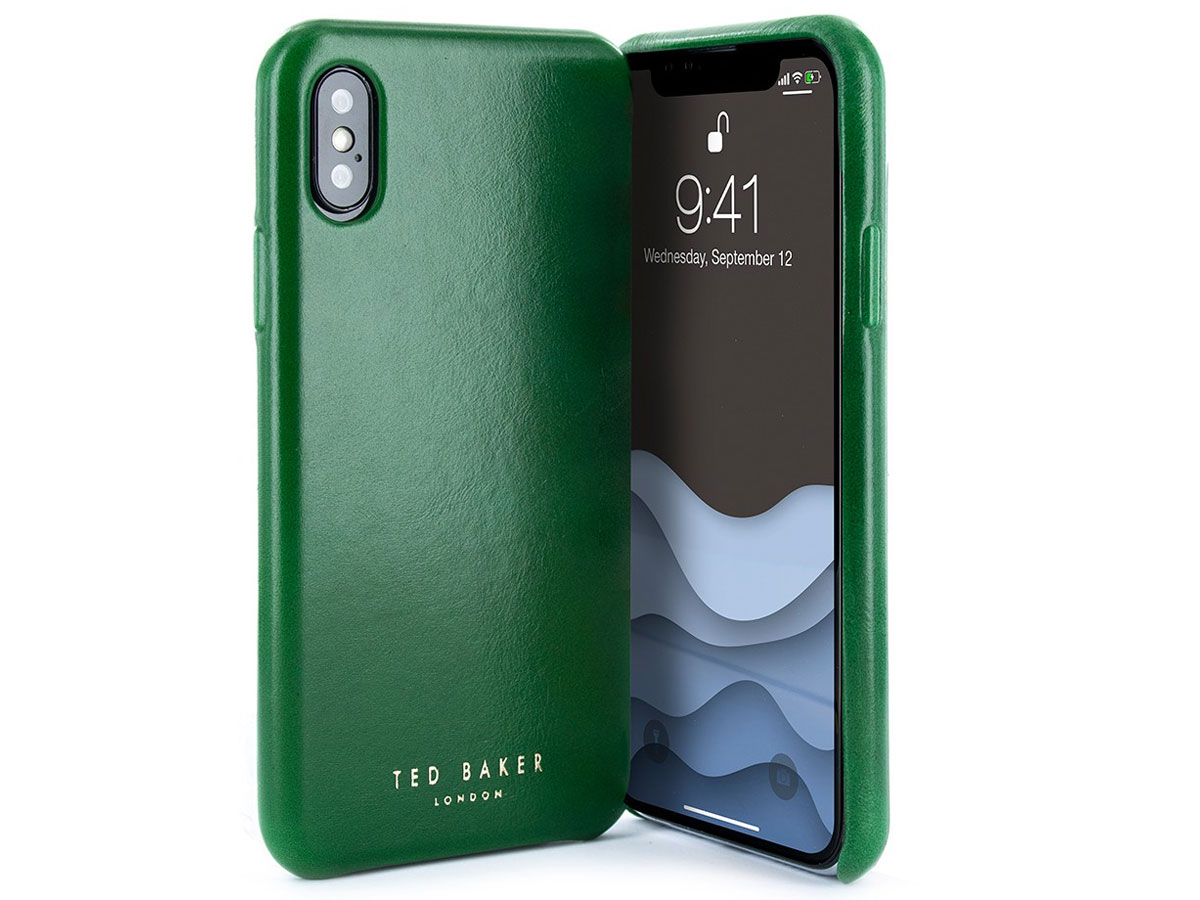 Ted Baker Midoca Leather Wrap Case - iPhone X/Xs Hoesje