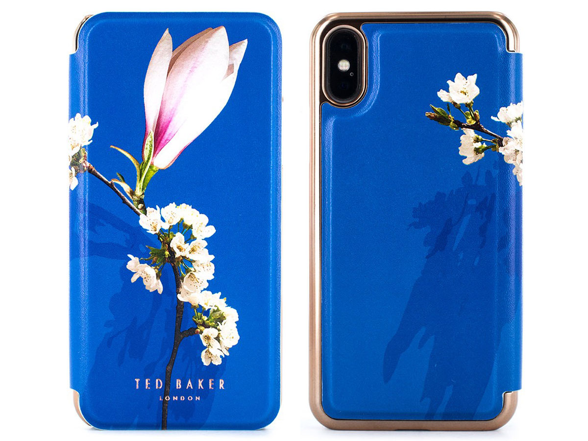 Ted Baker Layyli Folio Case Blauw - iPhone X/Xs Hoesje