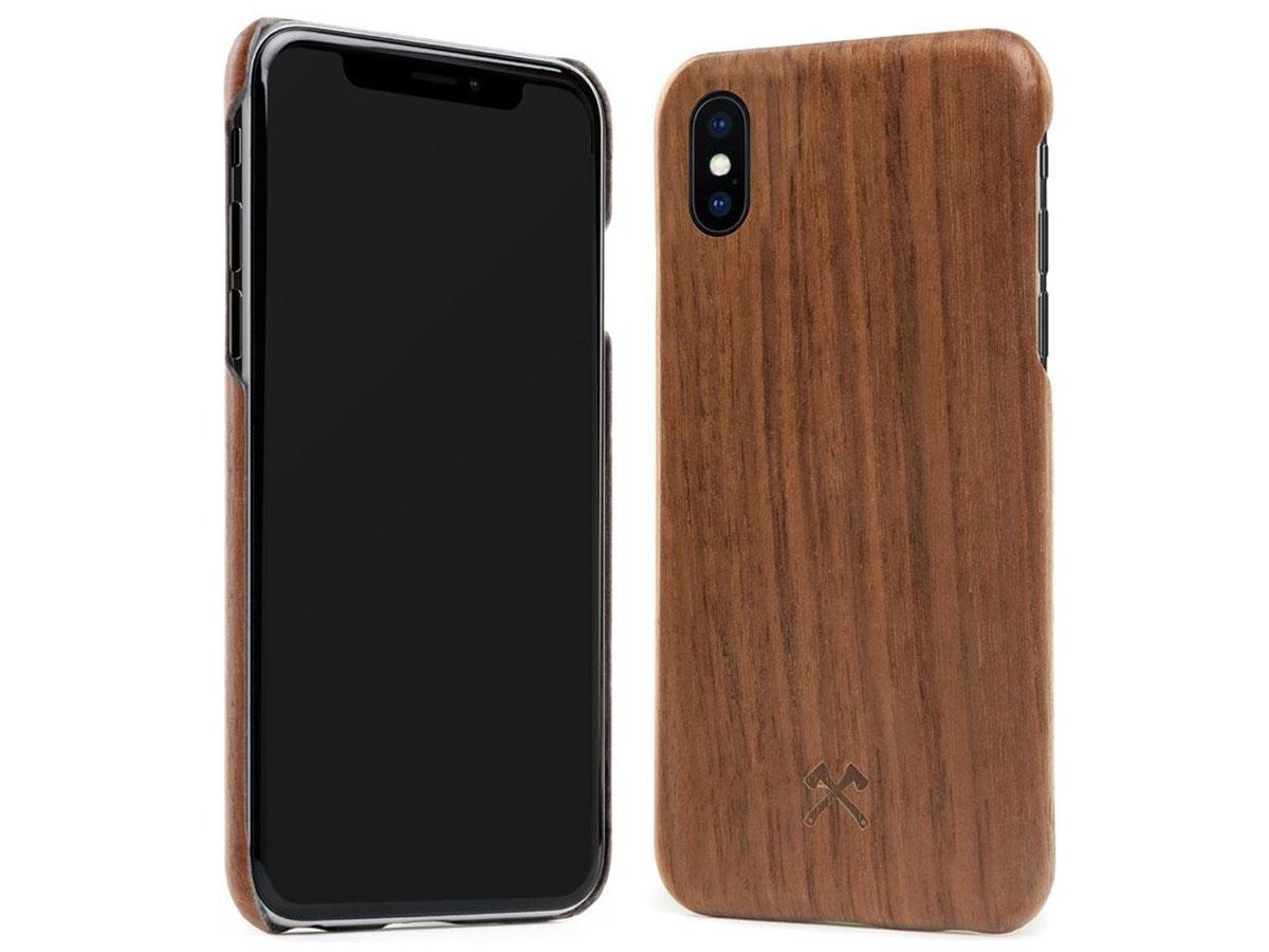 iphone hoesje walnotenhout