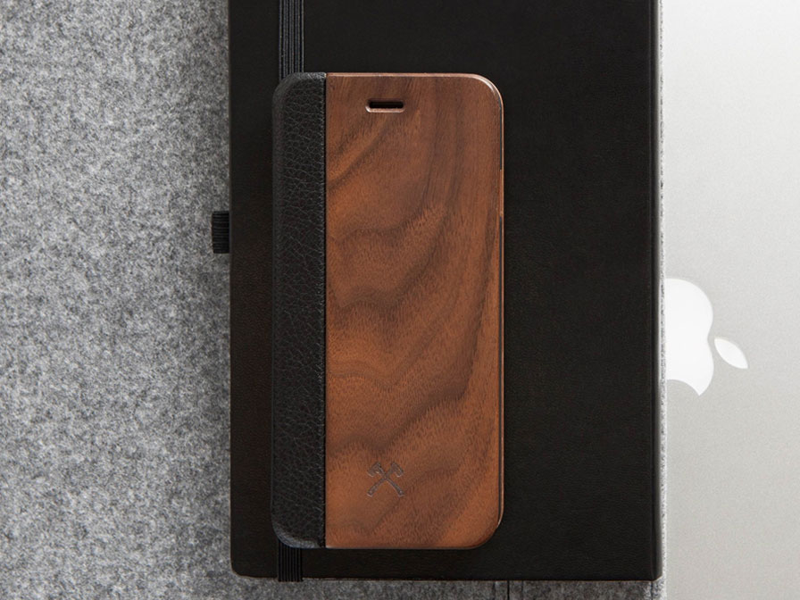 Woodcessories EcoFlip - Houten iPhone X/Xs hoesje