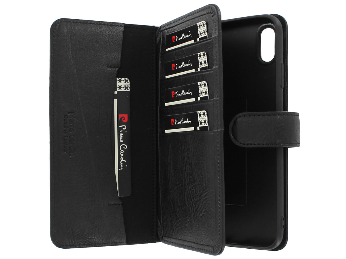 Pierre Cardin True Wallet Zwart Leer - iPhone XR hoesje