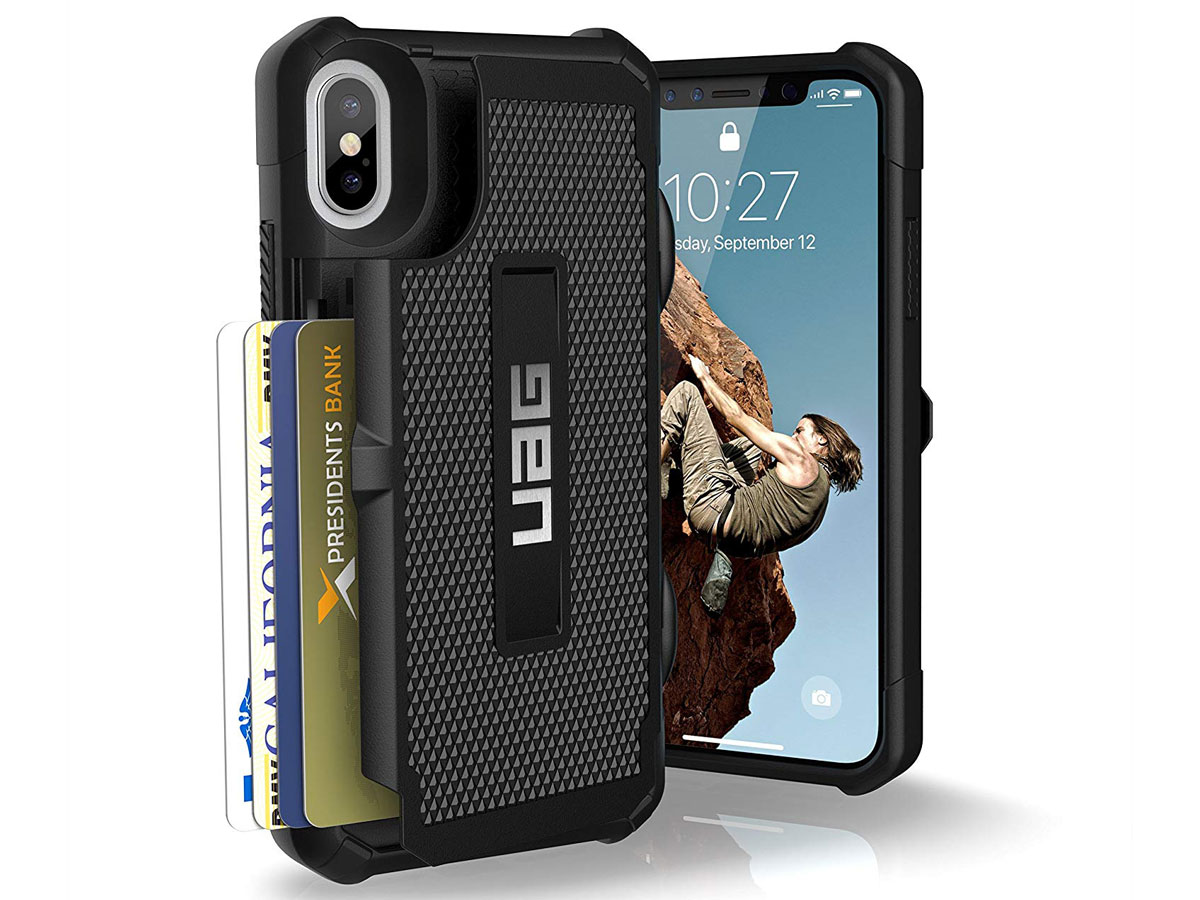 Urban Armor Gear Trooper Case - iPhone XR hoesje