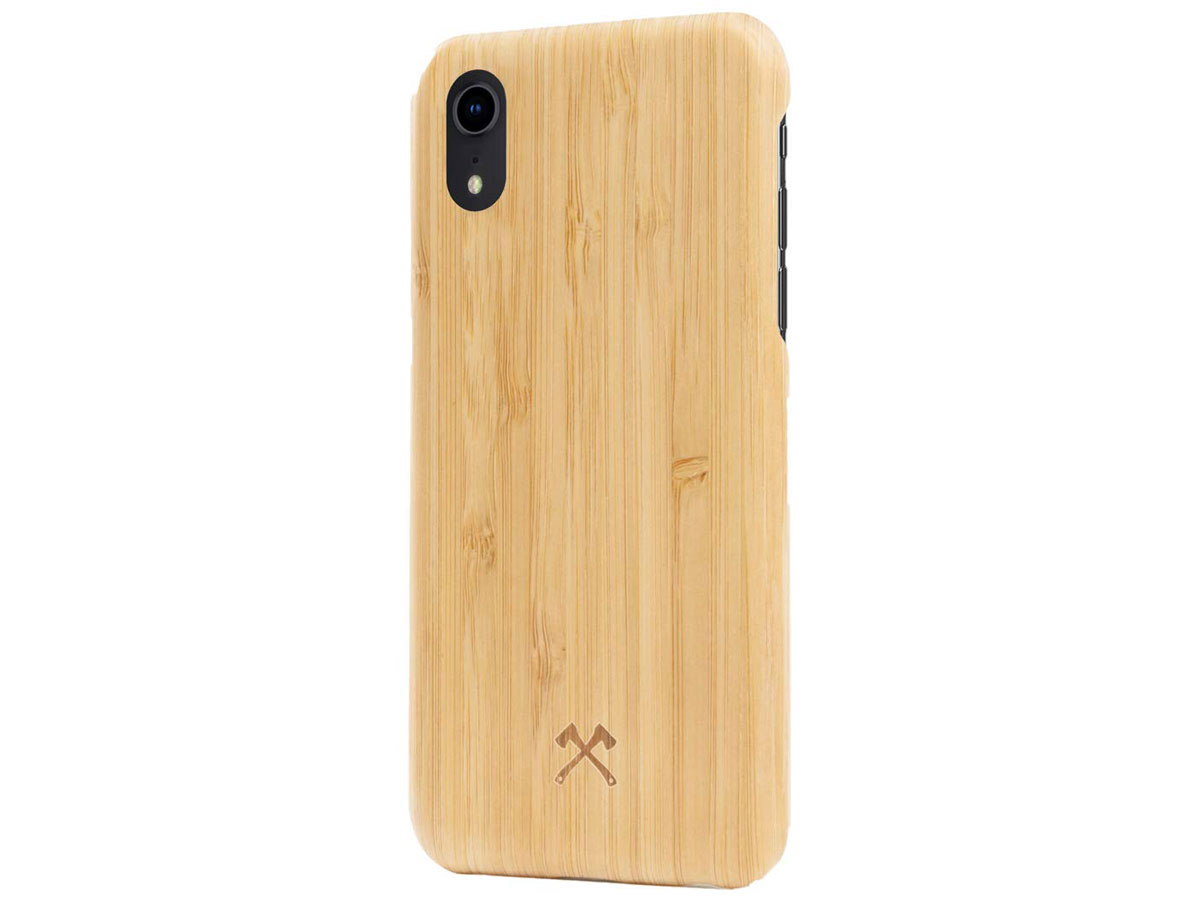 Woodcessories EcoSlim Kevlar Bamboo - iPhone XR hoesje