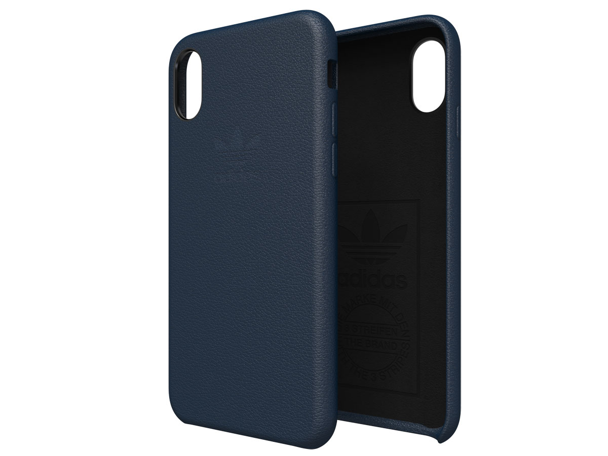adidas Originals Slim Case Echt Leer - iPhone X/Xs hoesje