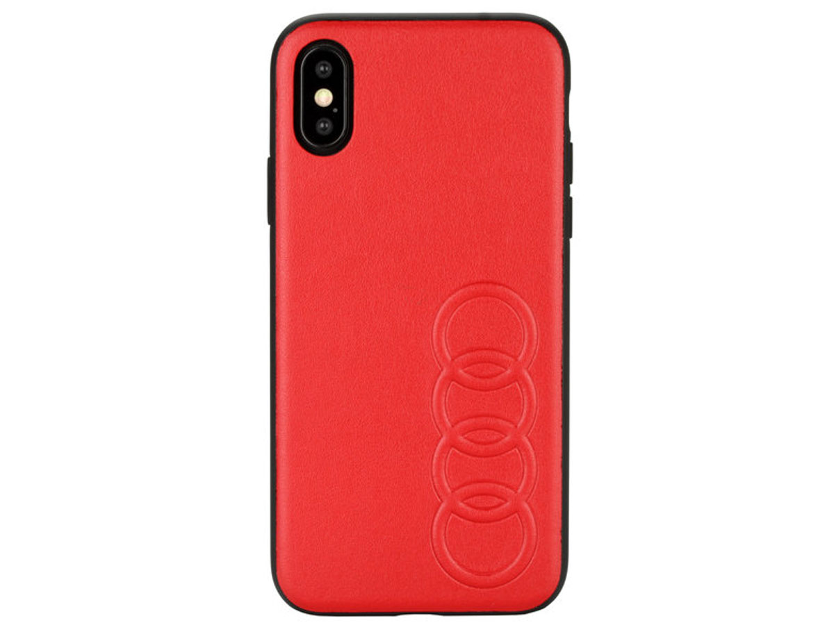 Audi Hard Case TT Series Rood - iPhone X/Xs hoesje