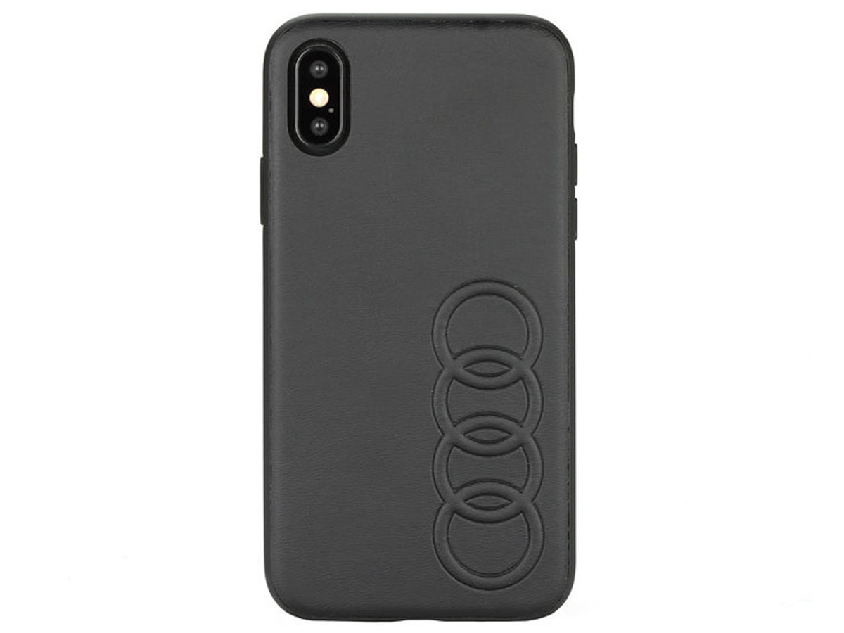 Audi Hard Case TT Series Zwart - iPhone X/Xs hoesje
