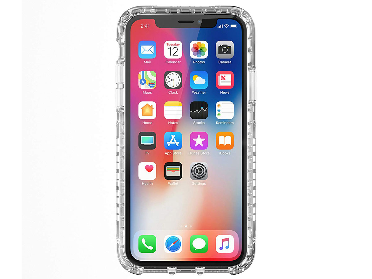 Griffin Survivor Strong Clear Case - iPhone X/Xs hoesje