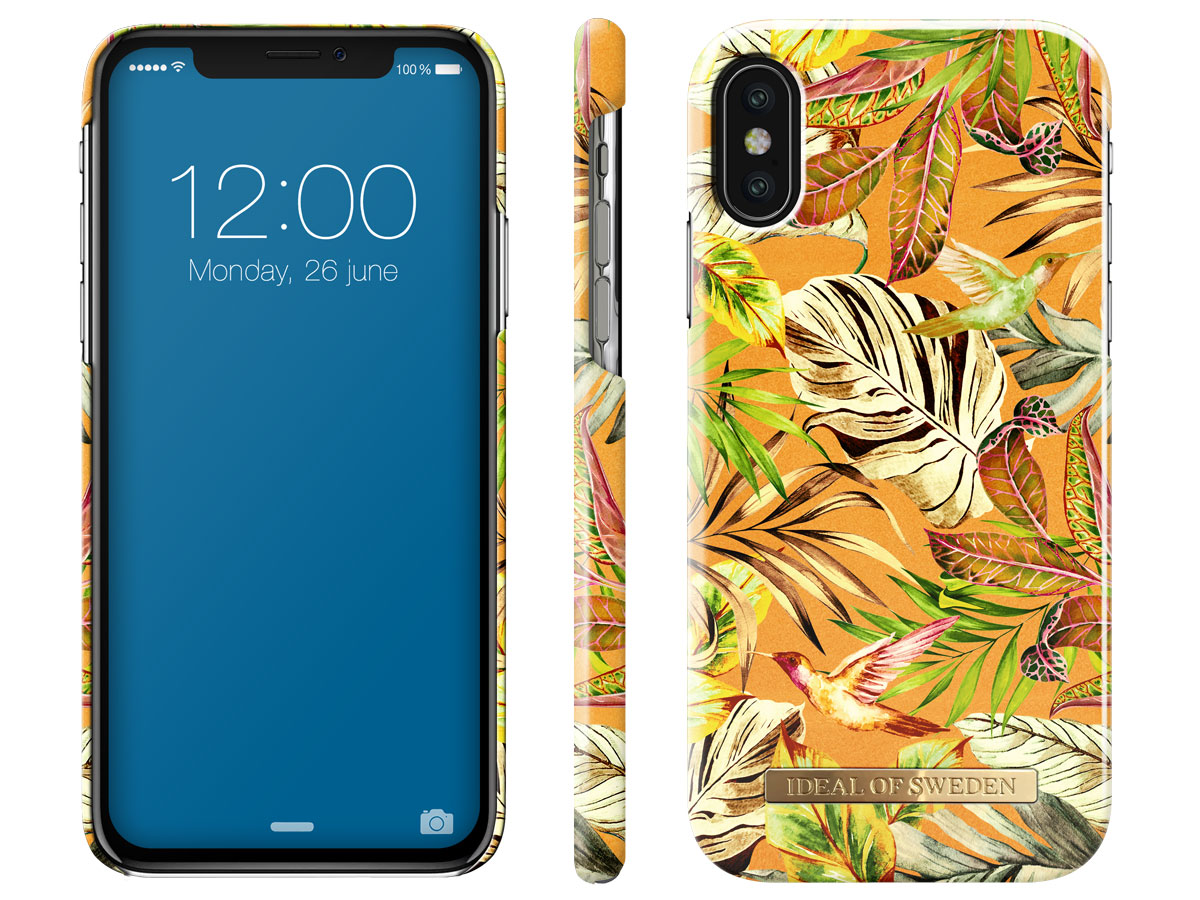 iDeal of Sweden Case Mango Jungle - iPhone X/Xs hoesje