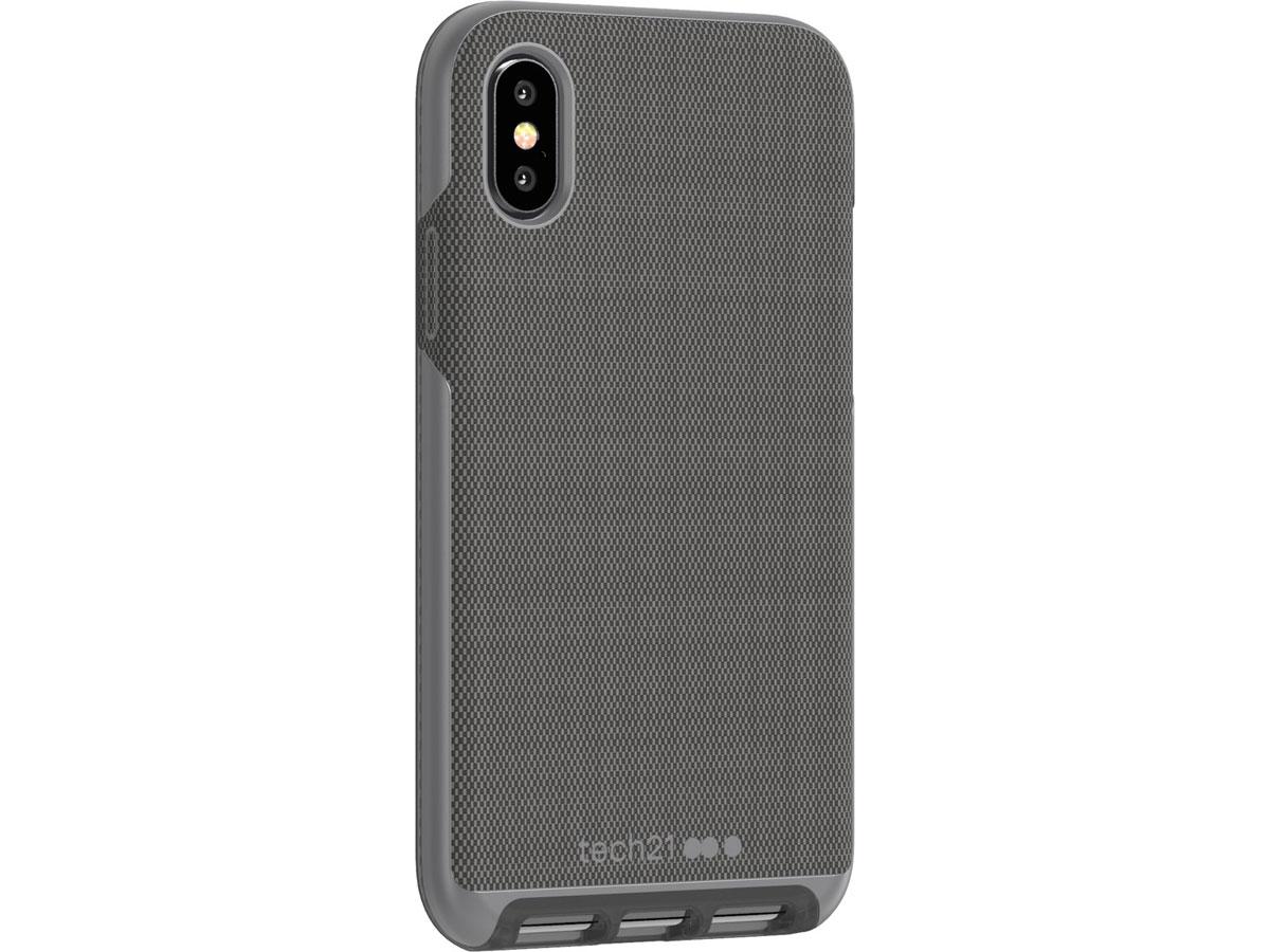 Tech21 Evo Luxe FlexShock Case Grijs - iPhone X/Xs hoesje