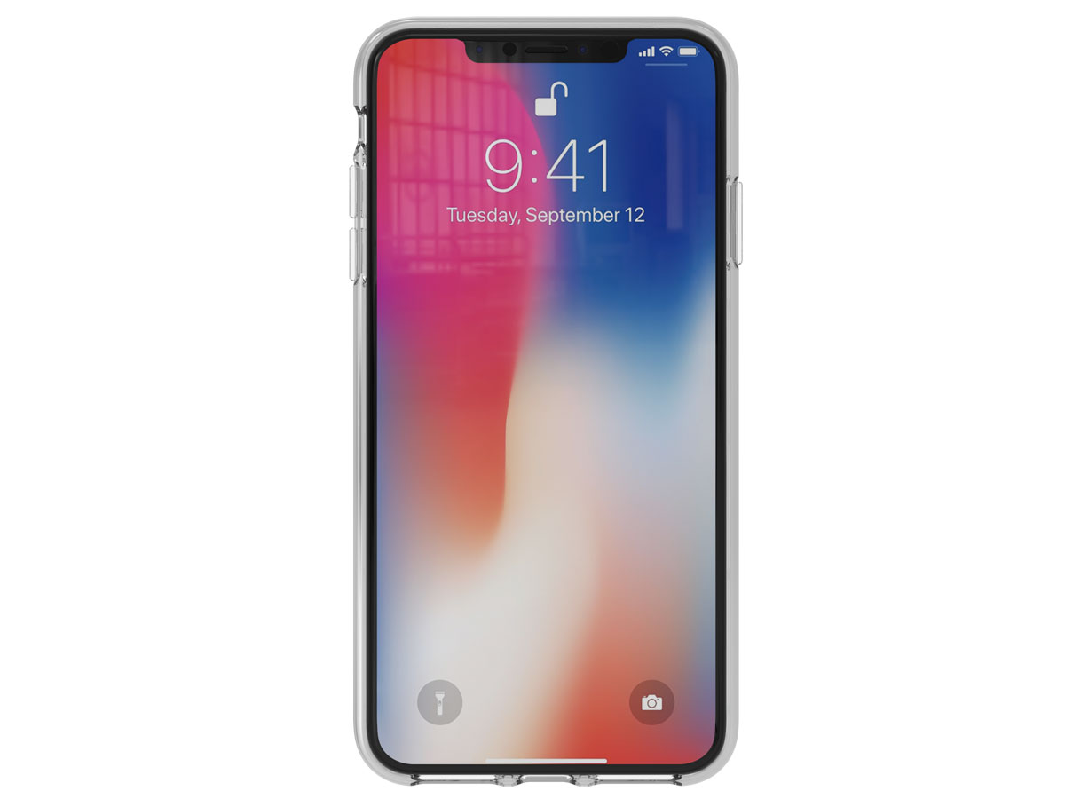 adidas Originals TPU Case Zilver - iPhone Xs Max hoesje