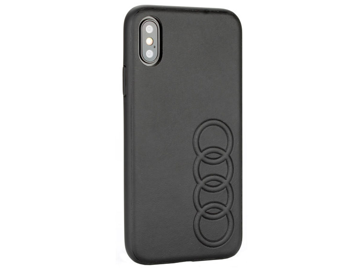 Audi Hard Case TT Series Zwart - iPhone Xs Max hoesje
