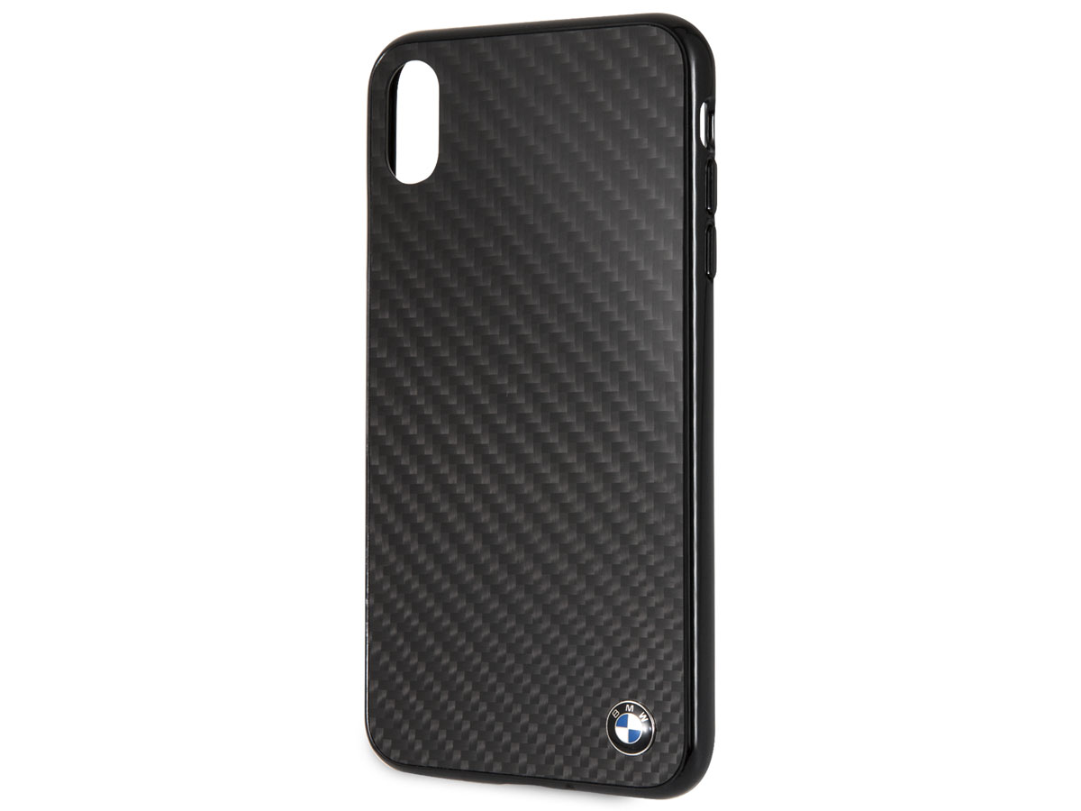 BMW Carbon Fiber Case - iPhone Xs Max hoesje