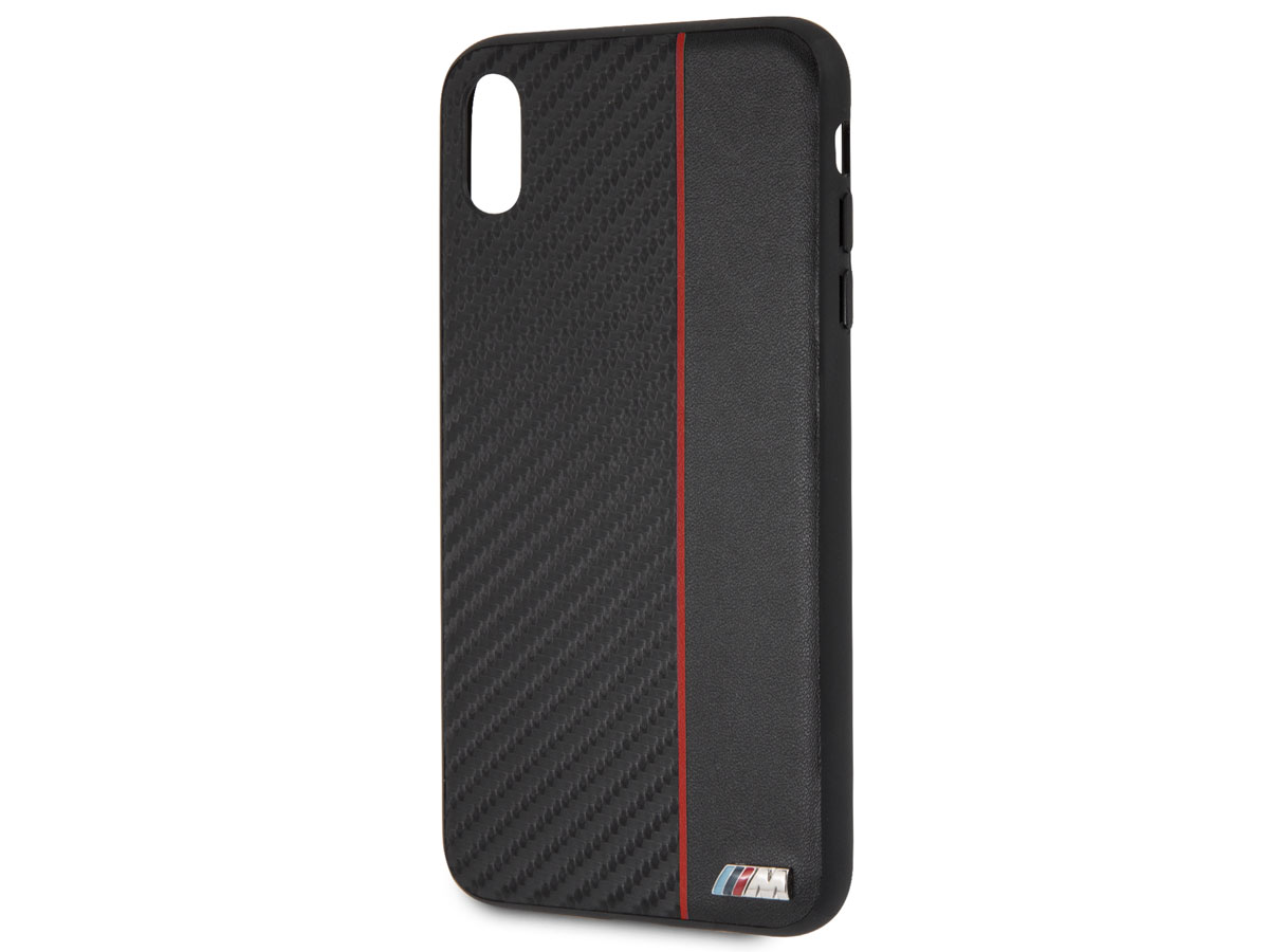 BMW M Sport Hard Case Rood - iPhone Xs Max hoesje