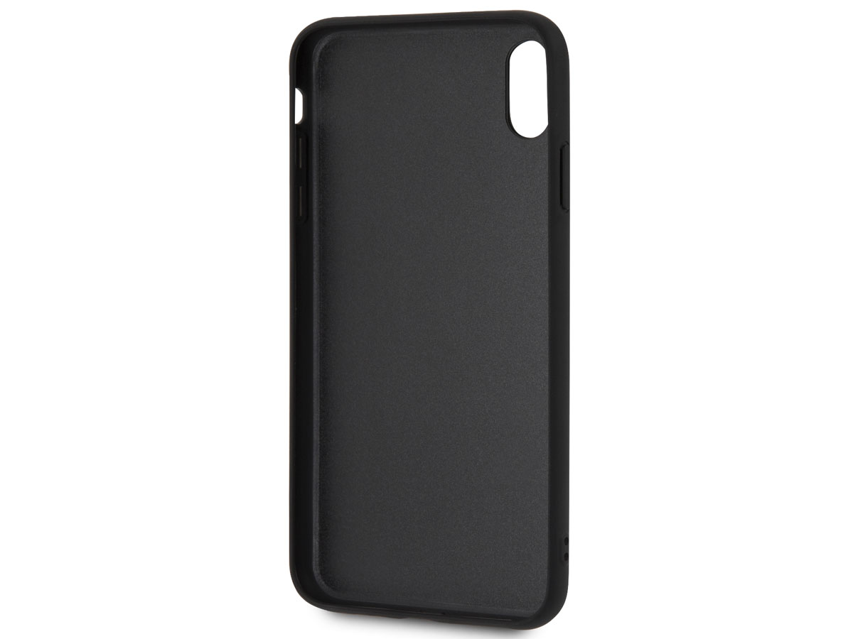 BMW Signature Case Zwart Leer - iPhone Xs Max hoesje