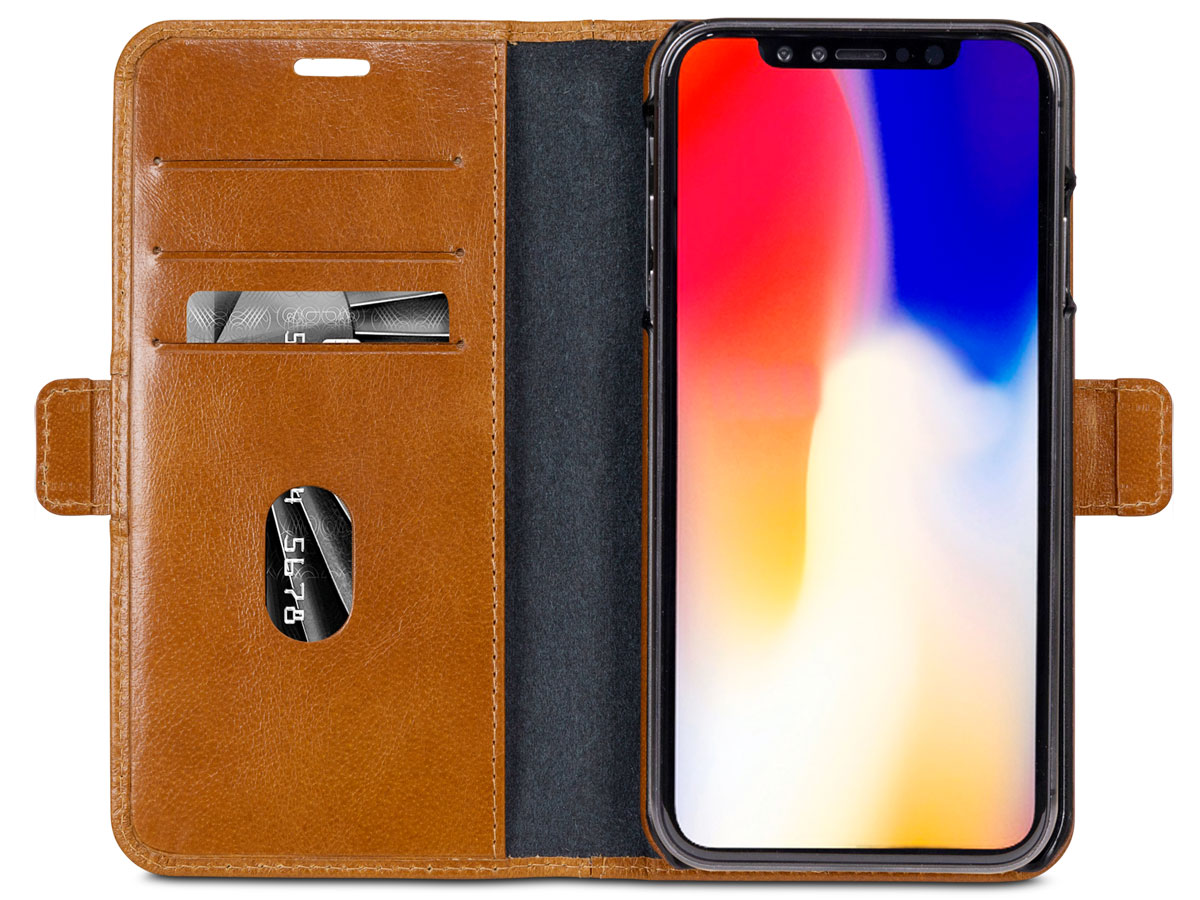 dbramante1928 Lynge Folio Tan - iPhone Xs Max hoesje